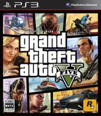 中古ゲーム/ PS3 ソフト / Grand Theft Auto V (グランド・セフト・オート 5)(CERO区分_Z) BLJM-61019 2500円以上送料無料