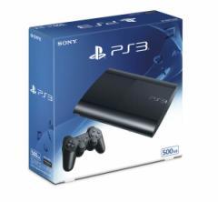 【新品】【ゲーム】【PS3 本体】PlayStation3チャコール・ブラック 500GB CECH4300C【2500円以上送料無料】