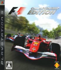 中古ゲーム/ PS3 ソフト / フォーミュラワン チャンピオンシップ SCLS-30005 2500円以上送料無料