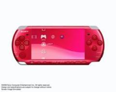 中古ゲーム/ PSP 本体 / 本体・ラディアン・レッド(PSP-3000) PSP-3000RR 2500円以上送料無料