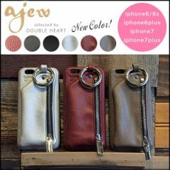 エジュー ajew Ajew cadenas zipphone case iphone7ケース iphone7plus iPhone6/6S iPhone6plus iPhone6プラス レザー