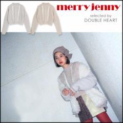 merry jenny メリージェニー ふゆのきおくケーブルニット レディース トップス ニット ケーブルニット ショート 雪 FCT