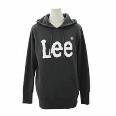 Lee リー レディース 通販 Lee LOGO PRINT PARKA ロゴプリントパーカー スウェット プルオーバー ロゴ ブランド