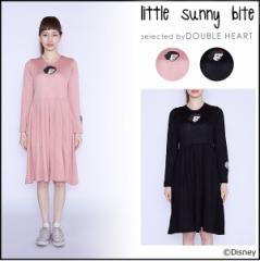 little sunny bite リトルサニーバイト snow white knit dress レディース ワンピース ディズニー disney ニット フレア