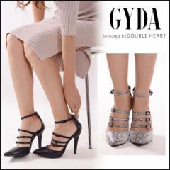 ジェイダ GYDA スリーラインベルトパンプス レディース シューズ 靴 パンプス ライン ベルト ヒール ポインテッドトゥ 071651800101