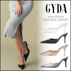 ジェイダ GYDA 4月下旬予約 Newポインテッドミュール レディース シューズ 靴 ミュール ヒール ピンヒール ポインテッドトゥ