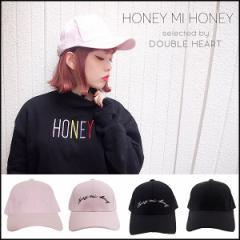 ハニーミーハニー HONEY MI HONEY embroidery cap エンブロイダリーキャップ キャップ 帽子 レディース スポーツ 可愛い