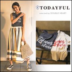 TODAYFUL トゥデイフル LIFEs ライフズ 通販 Grinder Logo Tee グラインダーロゴTee レディース トップス Tシャツ