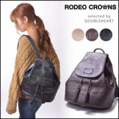 RODEO CROWNS ロデオクラウンズ Ortega Embossed Ruck オルテガエンボスリュック レディース バッグ リュック バックパック c06704101