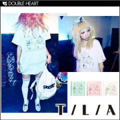 【スプリングSALE】T/L/A【ティーエルエー】 Tシャツ 半袖 ロゴ カットソー WALK THIS WAY RUN DMC ストリート ユニセック