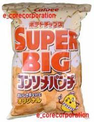 カルビーCalbee ポテトチップス コンソメパンチ スーパービッグ SUPER BIG 466g入 コンソメ味