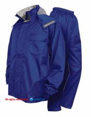 TOHKEMI(トオケミ) #7705 ニューバリューレインスーツ(上下セット) 透湿防水レインコート・レインウェア