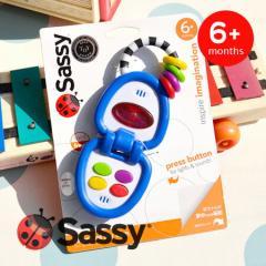 イーザッカ|Sassy|英語やスペイン語や音、光が楽しめるPOPな携帯電話トイ/TOY/オモチャ/ベビー/キッズ/おもちゃ/マイ・モバイルフォン