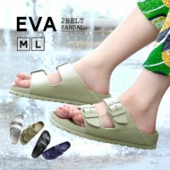 サンダル レディース 靴 くつ スポーツ スポーツサンダル スポサン 防水 歩きやすい / EVA ダブルベルト サンダル