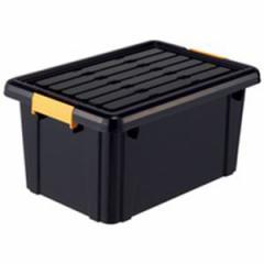 返品可 レビューで次回2000円オフ 頑丈箱(工具箱) ブラック 325×465×230cm生活用品・インテリア・雑貨 インテリア・家具 オフィス家