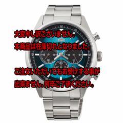 レビューで次回2000円オフ 直送 オリエント ネオセブンティーズ ソーラー クリスマス限定モデル クロノ メンズ 腕時計 WV0051TX 国内正規
