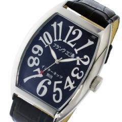 レビューで次回2000円オフ 直送 フランク三浦 インターネッツ別注 クオーツ メンズ 腕時計 FM06IT-BK ブラック 【ネット限定】