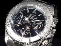レビューで次回2000円オフ 直送 エルジン ELGIN クロノグラフ 腕時計 FK1120S-BN