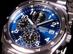 レビューで次回2000円オフ 直送 セイコー SEIKO クロノグラフ 腕時計 SND193