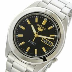 レビューで次回2000円オフ 直送 セイコー SEIKO セイコー5 SEIKO5 自動巻き メンズ 腕時計 SNKM67K1 ブラック