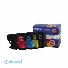 ブラザー販売 [LC16-4PK] インクジェットカートリッジ LC164PK【AKB】