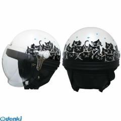 DAMMTRAX (ダムトラックス)[4580184000233] ヘルメット カリーナハーフ WHITE/CAT 4580184000233