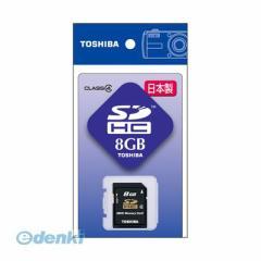 東芝(TOSHIBA) [SD-F08GTS] SDHCメモリカード8GB Class4 SDF08GTS