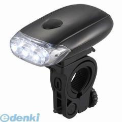 オーム電機 [07-8395] 自転車用LEDライト 単4形×3本付属 078395