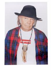 SUPREME(シュプリーム)  Neil Young Poster (ニール・ヤング)(ポスター)  590-003367-019