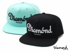 Diamond Supply Co. (ダイヤモンドサプライ) CHAMPAGNE SNAPBACK [スナップバックキャップ] 999-003446-014