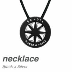 ネックレスメタリック BLACK×SILVER/ロングタイ...
