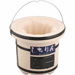 七輪 (KA103519/BD-385) 珪藻土 七輪 網焼き バーベキュー 魚焼き さんま 焼き物 コンロ グリル 炭火 炭火焼 丸型七輪