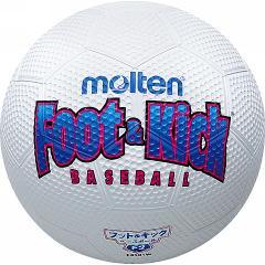 フット&キックベースボール 2号 (JS117426/FB201W)