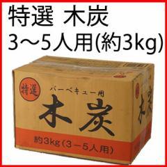 炭 特選 バーベキュー用 木炭 約3kg