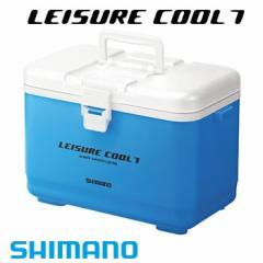 シマノ 小型クーラーボックス レジャークール7 LC-007L スカイブルー