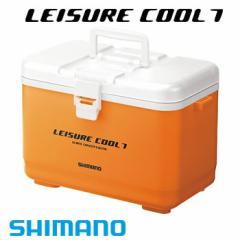 シマノ 小型クーラーボックス レジャークール7 LC-007L オレンジ