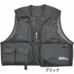 お買得品 フィッシングベスト NF-2150 ブラック (M〜LL)
