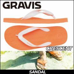 GRAVIS グラビス メンズ ビーチサンダル CRESCENT カラー NECTARINE  サンダル