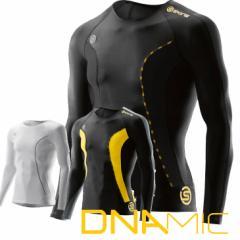 skins DNAmic  メンズ ロングスリーブ トップ  【正規品】【2016 Newモデル】