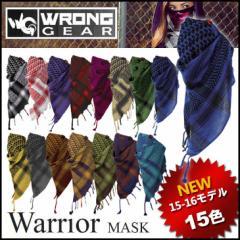 WRONG GEAR ロングギアー 15-16 フェイスマスク スノーボード Warrior  ウロングギア  メール便可【返品種別SALE】