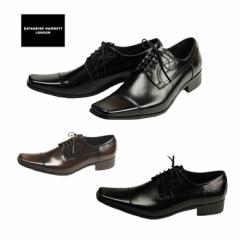 【送料無料】キャサリンハムネット 靴  ストレートチップタイプ 3947 メンズビジネスシューズ