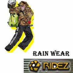 【在庫整理超特価売り切り!】【RIDEZ】RIDEZTEC RAINWEAR CAMO/BK ライズ レインウェア 雨具 M-3L