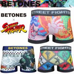 BETONES ビトーンズ STREET FIGHTER ストリートファイターコラボ 限定版 ボクサーパンツ 下着 インナー