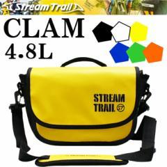 STREAMTRAIL ストリームトレイル CLAM 4.8L クラム 簡易防水ショルダーバッグ