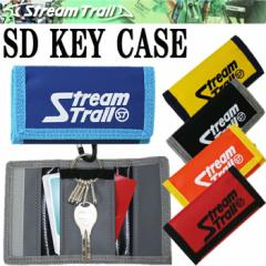 STREAMTRAIL ストリームトレイル SD KEY CASE キーケース 5連タイプ カード収納 カラビナ付き
