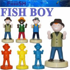 CAPS Fiiiiish FISH BOY スタンド 釣り インテリア フィッシュボーイ ペン置き フィギュア
