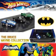 【HOT WHEELS】BATMAN BEGINS THE BRUCE WAYNE COLLECTIONホットウィール バットマン ブルース・ウェインコレクション3台コレクターミニ
