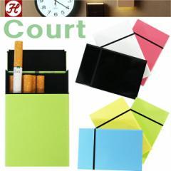 【ゆうパケット対応4個迄】【HOUSE USE PRODUCTS】Court コート スライド式シガレットケース タバコケース 13P 喫煙具