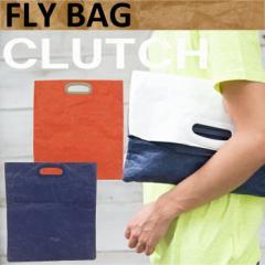 【BRUSHUP STANDARD】FLY BAG フライバッグ クラッチバッグ バイカラー2WAY タイベック ハンドバッグ