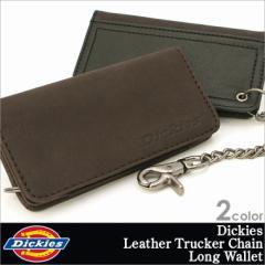 Dickies ディッキーズ 財布 レザー 本革 メンズ 長財布 チェーン ウォレット USAモデル (31di3000)